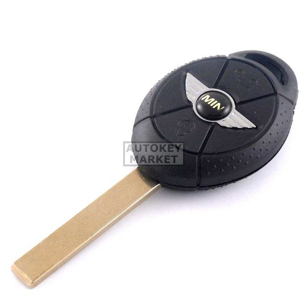 Mini Cooper 3 Buttons Remote Key Shell