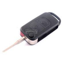Корпус за сгъваем ключ за Mercedes с 2 бутона