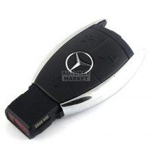 Корпус за Mercedes с 2 бутона – хром