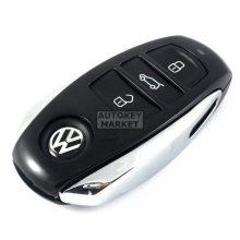 Корпус за смарт ключ за VW с 3 бутона